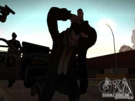 Novas histórias de Niko Bellis para GTA San Andreas segunda tela
