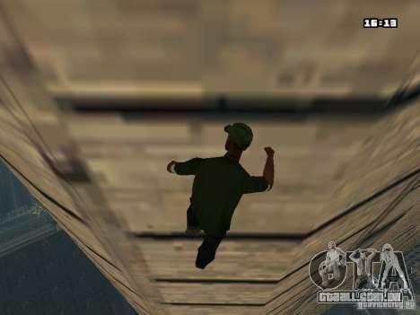 Parkour Mod para GTA San Andreas sétima tela