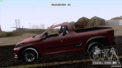 Peugeot Hoggar Escapade 2010 para GTA San Andreas esquerda vista