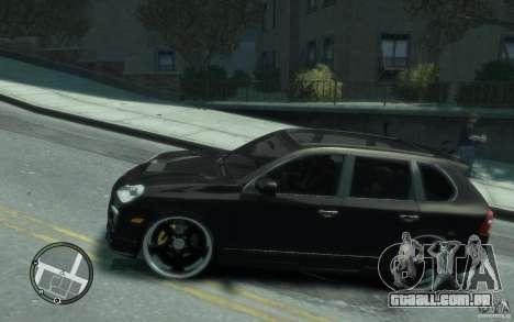 Porsche Cayenne para GTA 4 esquerda vista