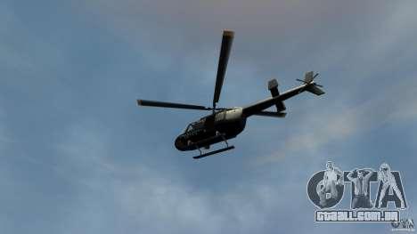 Helicopter Generation-GTA para GTA 4 vista de volta