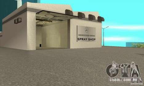 Mercedes Showroom v. 1.0 (Autocentre) para GTA San Andreas terceira tela