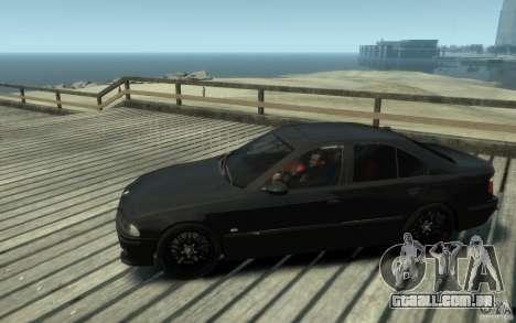 BMW M5 E39 para GTA 4 esquerda vista