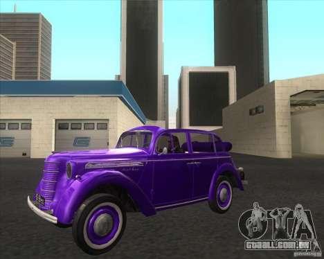 AZLK 401 para GTA San Andreas