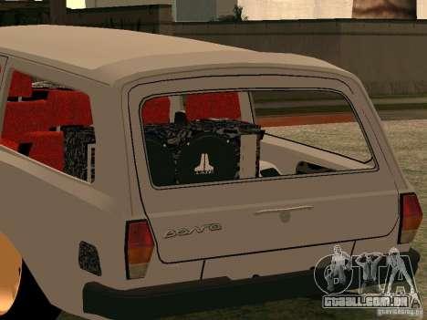 GAZ Volga 310221 para GTA San Andreas traseira esquerda vista