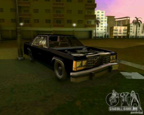 Ford Crown Victora LTD 1985 para GTA Vice City vista inferior