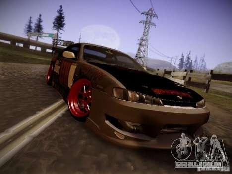 Nissan Silvia S14 Hell para GTA San Andreas esquerda vista