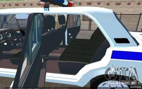 Vaz 2105 PPP Zhiguli para GTA San Andreas traseira esquerda vista