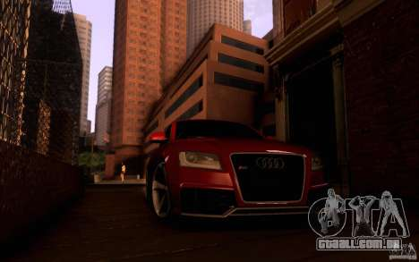 Audi RS5 para GTA San Andreas vista interior