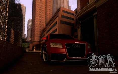 Audi RS5 para GTA San Andreas vista interior
