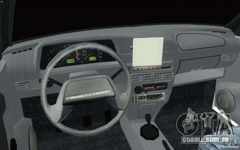 Vaz-2114 para GTA San Andreas vista direita