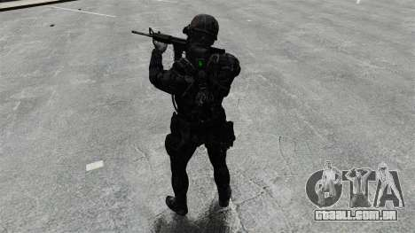 Sam Fisher v10 para GTA 4 quinto tela