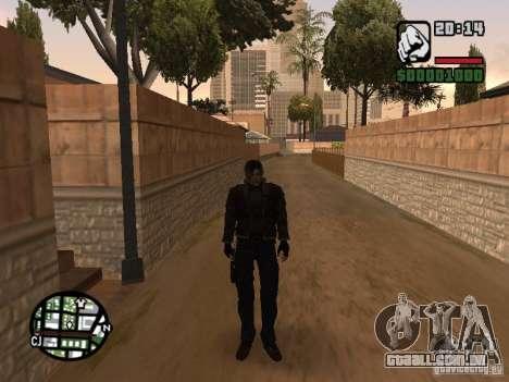 Personagens de Pak atualizadas do Resident Evil  para GTA San Andreas segunda tela