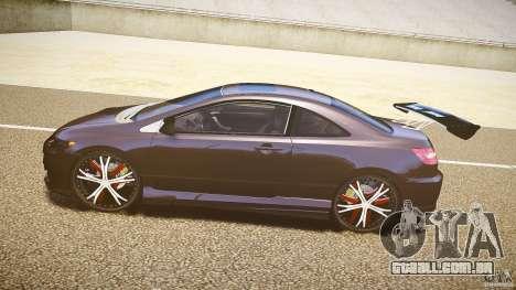 Honda Civic Si Tuning para GTA 4 esquerda vista