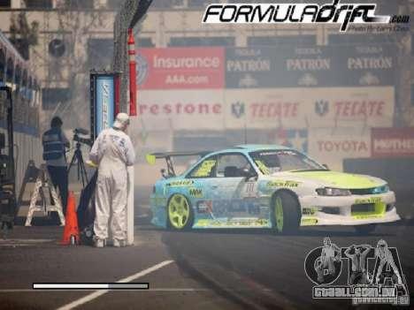 Telas de carregamento Formula Drift para GTA San Andreas quinto tela