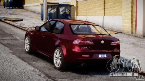 Alfa Romeo 159 Li para GTA 4 vista interior