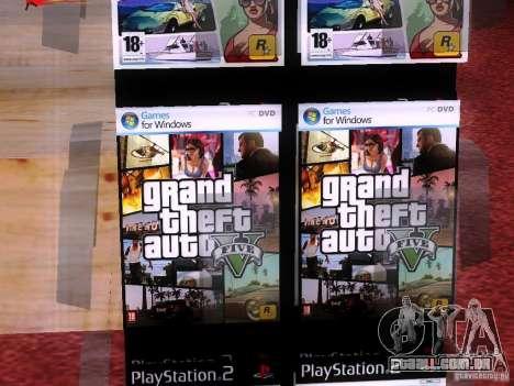 Drives com o GTA na loja Zero para GTA San Andreas quinto tela