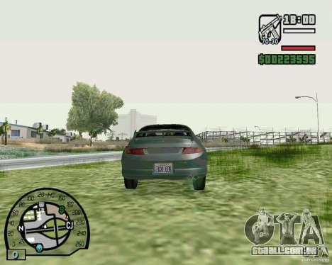 Mitsubishi FTO Stock para GTA San Andreas traseira esquerda vista