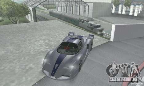 Ferrari FXX para vista lateral GTA San Andreas