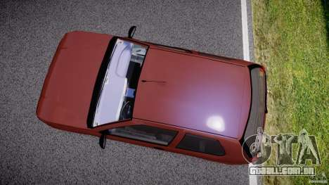 Fiat Palio 1.6 para GTA 4 vista interior