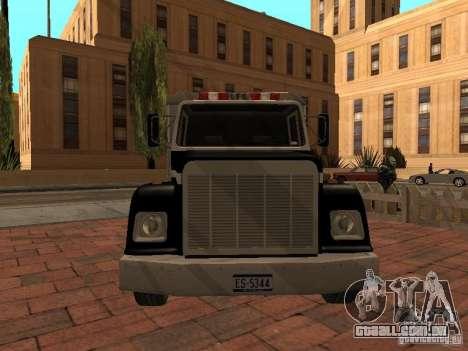 Máquina de selo HD para GTA San Andreas vista traseira