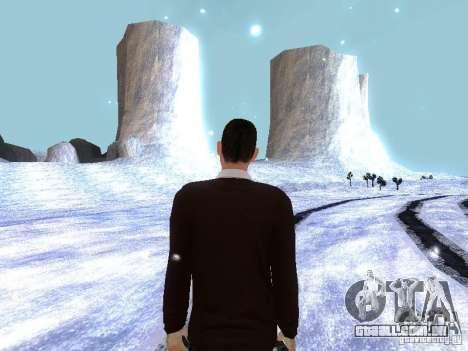 Snow MOD HQ V2.0 para GTA San Andreas segunda tela