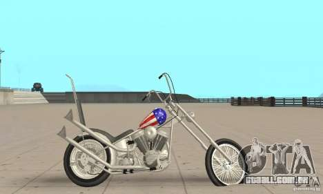 Captain America Chopper para GTA San Andreas