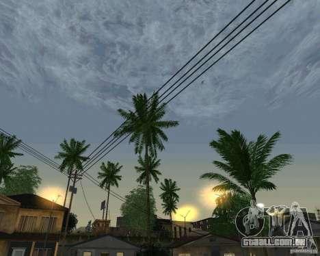 Nuvens de novas para GTA San Andreas sétima tela
