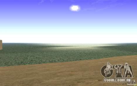 Água HD v 2.0 para GTA San Andreas