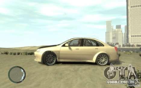 Chevrolet Lacetti Street Tune para GTA 4 esquerda vista