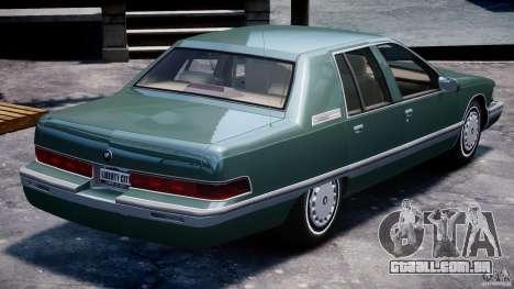 Buick Roadmaster Sedan 1996 v1.0 para GTA 4 motor