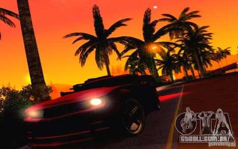 Chevrolet Camaro Tuning para vista lateral GTA San Andreas