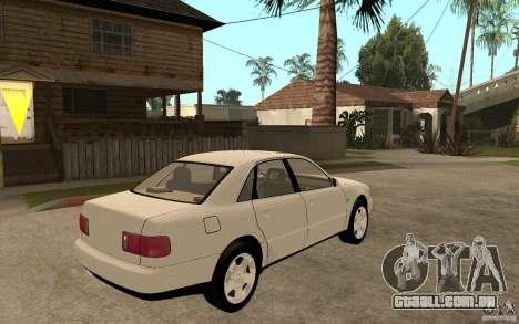 Audi A8 4.8L 2000 para GTA San Andreas