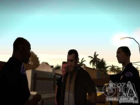 Novas histórias de Niko Bellis para GTA San Andreas terceira tela