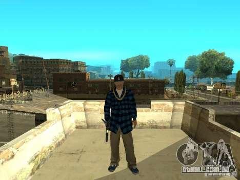 Varrios Los Aztecas Gang Skins para GTA San Andreas terceira tela