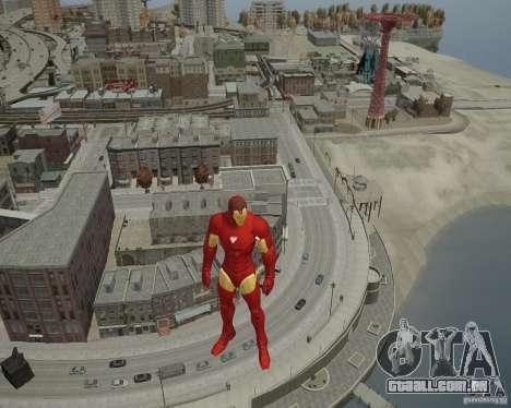 Iron Man Mk3 Suit para GTA 4 sétima tela