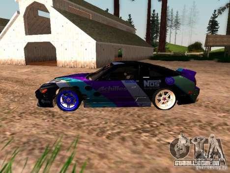 Nissan Sil80 Nate Hamilton para GTA San Andreas esquerda vista