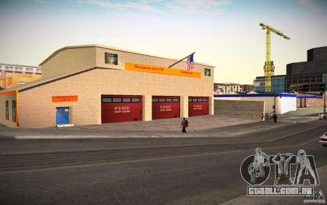 Departamento de fogo HD para GTA San Andreas