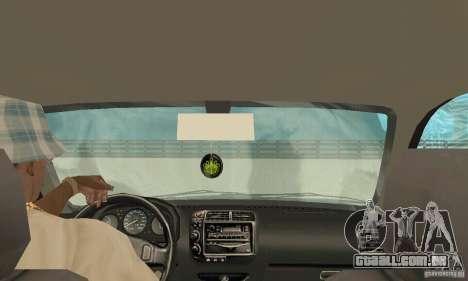 Honda-Superpromotion para GTA San Andreas vista interior