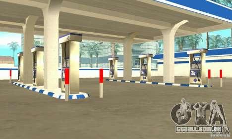 Estação de enchimento TNK para GTA San Andreas segunda tela