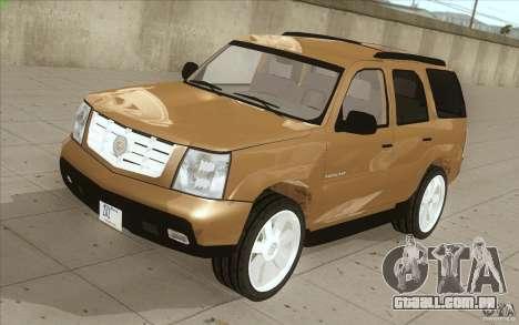 Cadillac Escalade 2004 para GTA San Andreas