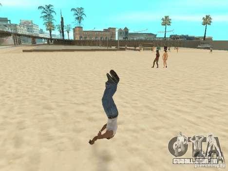 Parkour 40 mod para GTA San Andreas sexta tela