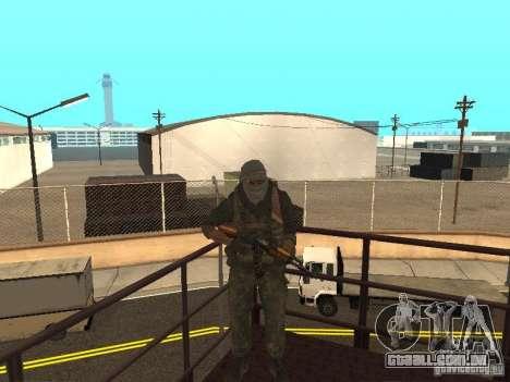Dušman 2 do COD4MW para GTA San Andreas