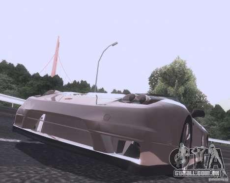 Honda NSX Japan Drift para GTA San Andreas traseira esquerda vista
