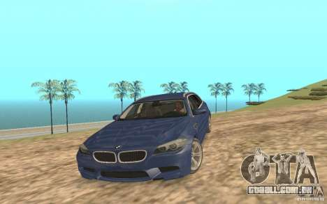 BMW M5 F11 Touring para o motor de GTA San Andreas