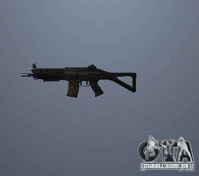 Armas de Pak poligonais altas para GTA San Andreas segunda tela