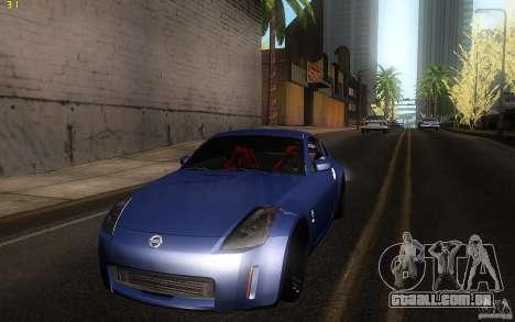 Nissan 350z Speedhunters para GTA San Andreas