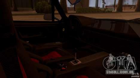 Ferrari F50 Coupe v1.0.2 para GTA San Andreas vista traseira