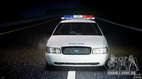Ford Crown Victoria CVPI-V4.4M [ELS] para GTA 4 vista inferior