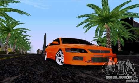 Mitsubishi Lancer Evolution IX 2006 para GTA San Andreas